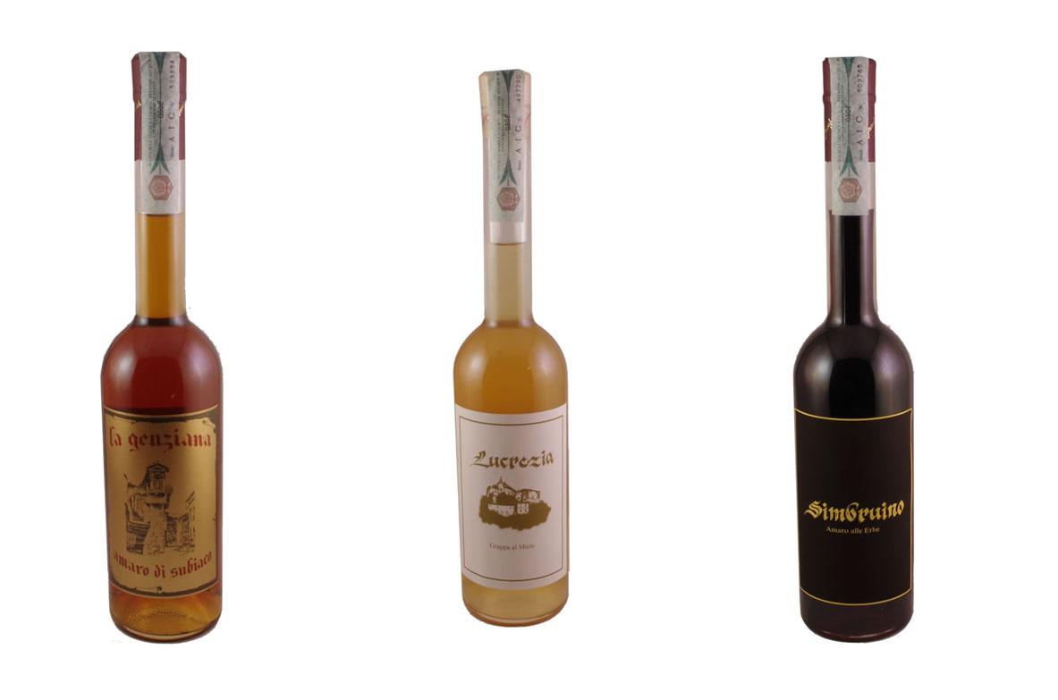 Confezionamento liquori